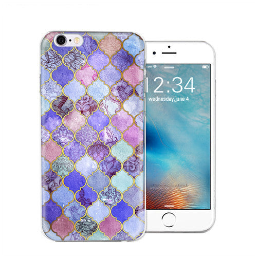 Soft Silicone Van Gogh Star Picasso Cover Case For Apple iPhone 7 7 Plus Crystal Soft