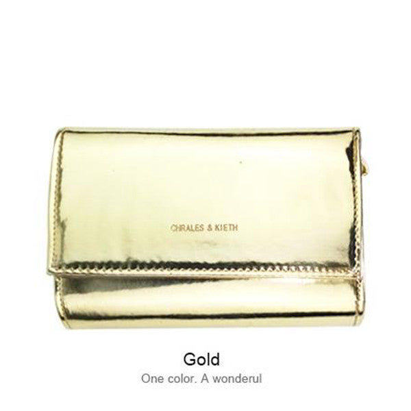 Women Bag Silver/Gold/Black Shoulder Bag Female Crossbody Handbags Solid
