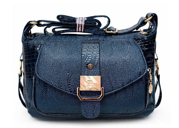Women Messenger Bags Leather Handbag Mid-age Models Shoulder Bag Crossbody For Women Mom Handbags