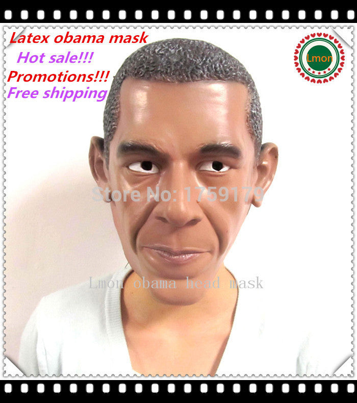 U.S President Barack Obama Halloween Mask
