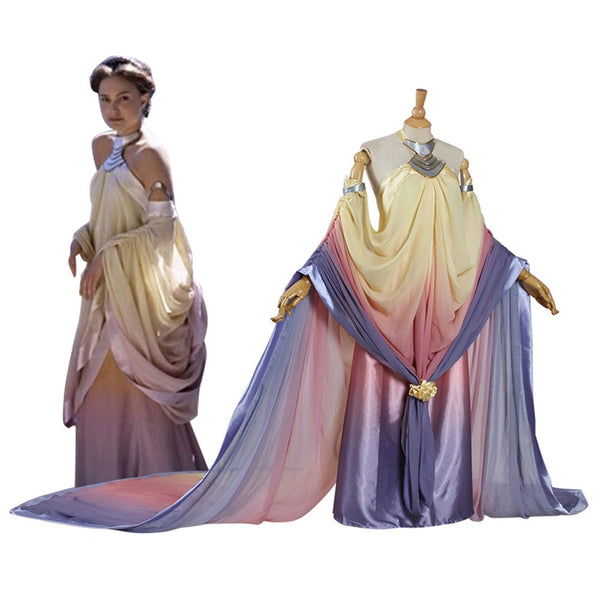 Star Wars Padme Amidala Cosplay Halloween Costumes For Women