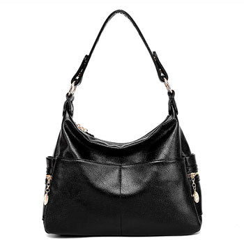Genuine Leather Messenger Crossbody Luxury Tote Retro Shoulder Bag