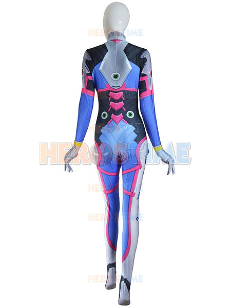 Black & Red D VA Women Halloween Cosplay Customes