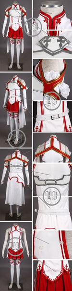 Asuna Yuuki Halloween Costumes For Women
