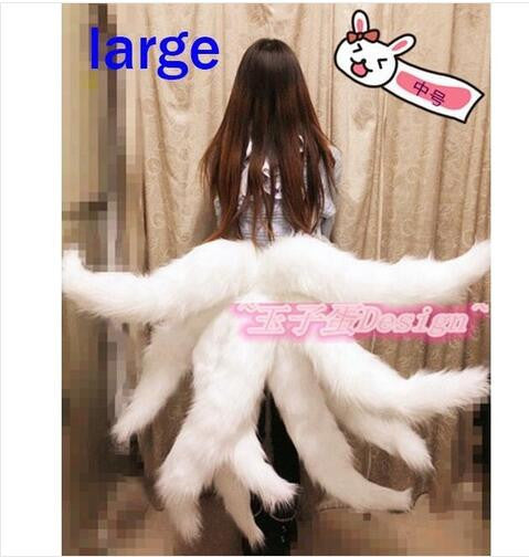 Fox Lol Ahri Nine Tailed Dynasty Halloween Carnival Cosplay Women Costumes