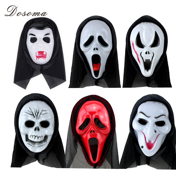 Final Destination Movie Scary PVC Full Face Anonymous Masque Halloween Mask