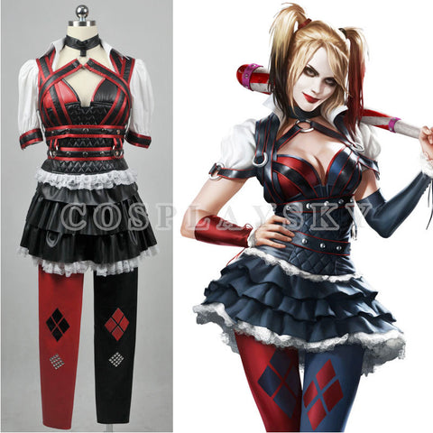 Harley Quinn Cosplay Halloween Costumes For Women