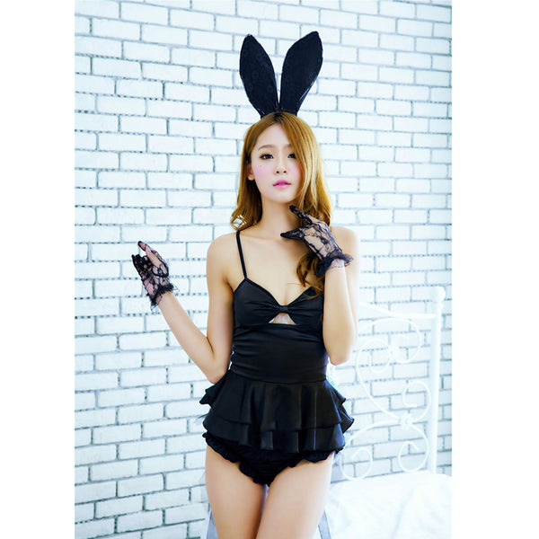 Babydoll Teddy Lady Rabbit Bunny Halloween Cosplay Women Costumes