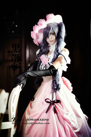 Black Butler Ciel Phantomhive Cosplay Halloween Women Costumes
