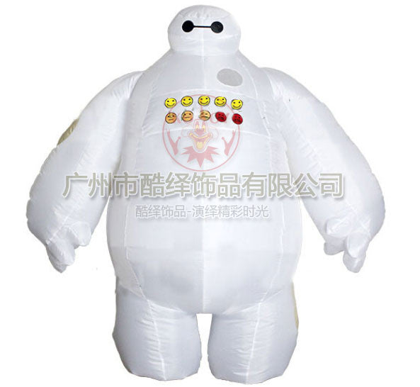 Big Hero 6 Inflatable Baymax Cosplay Halloween Women Men Costumes