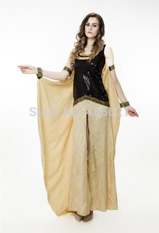 Ancient Egypt Egyptian Palace Cleopatra Queen Cosplay Nightclub Halloween Costumes Women