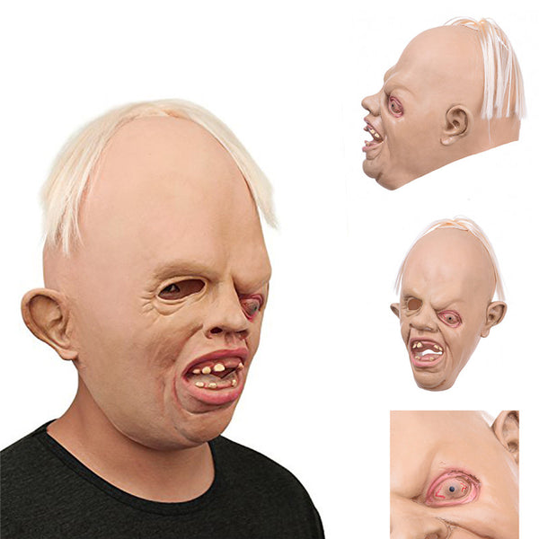 1 Pieces Monster Full Head Face Breathable Halloween Mask