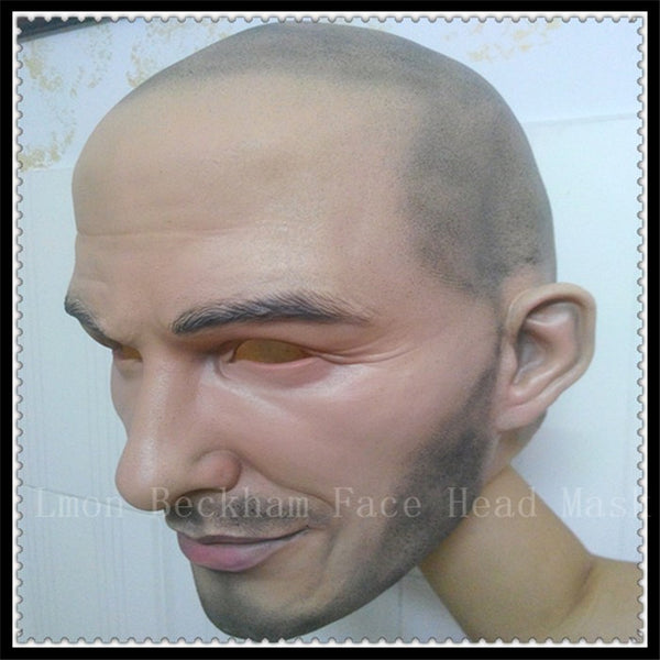 Halloween Realistic Famous Person Beckham Halloween Mask