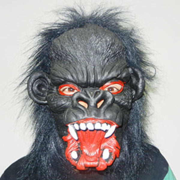 Goat Sheep Head Chimpanzee Halloween Mask