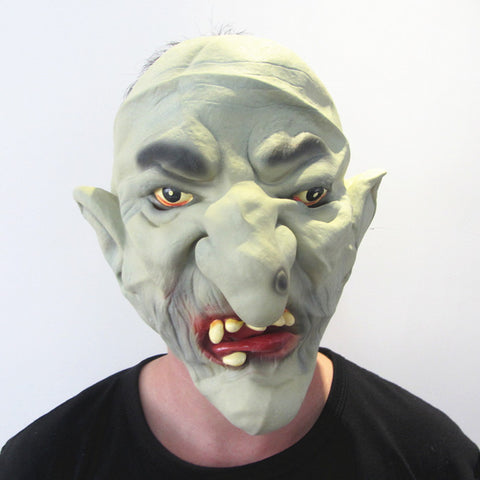 Green Deamon Monster Halloween Mask Horror Hell Soldier