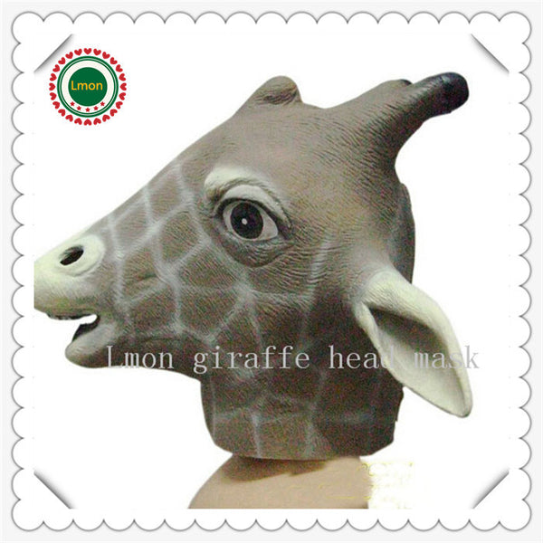 Animal Giraffe Halloween Mask