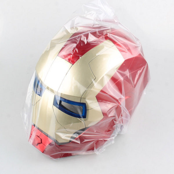 The Avengers Iron Man Mask Face Masquerade Cosplay Helmet Halloween Mask