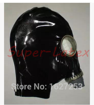 Black Fetish Gas Halloween Mask