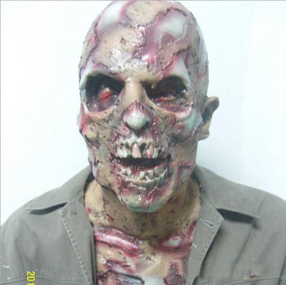 Bloody Ghost Head Bag Mail Scary Masks And Biochemical Crisis Zombie Section Head Halloween Mask