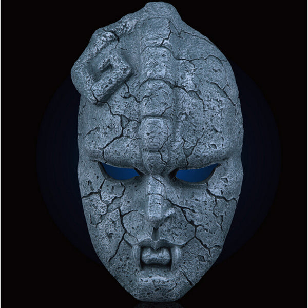 Halloween Party Cosplay Horror Mask Jojo Bizarre Adventure Mask Stone Statue Mask