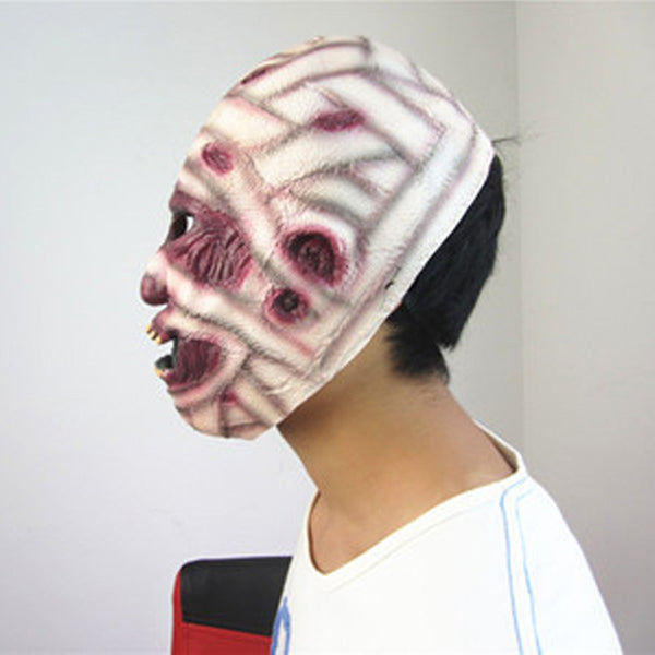 Gauze Scar Men Festival Party Halloween Mask High Quality Mask Best Gifts for Adult
