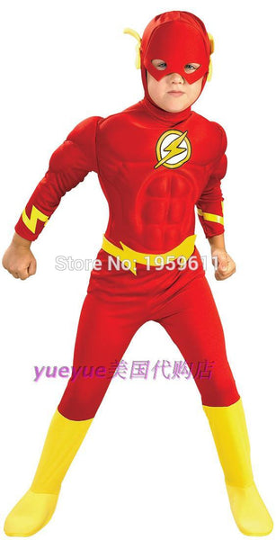 The Flash Children Boys Halloween Cosplay Costume