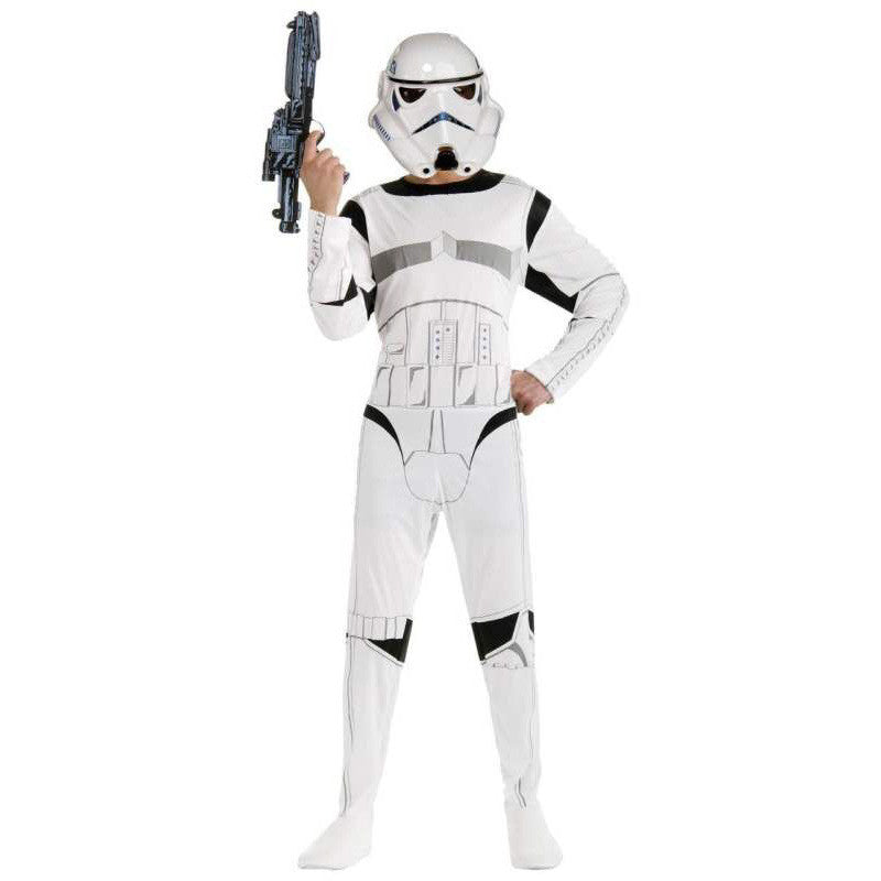 Star War Storm Trooper Darth Vader (Anakin Skywalker) Cosplay Halloween Costume Children