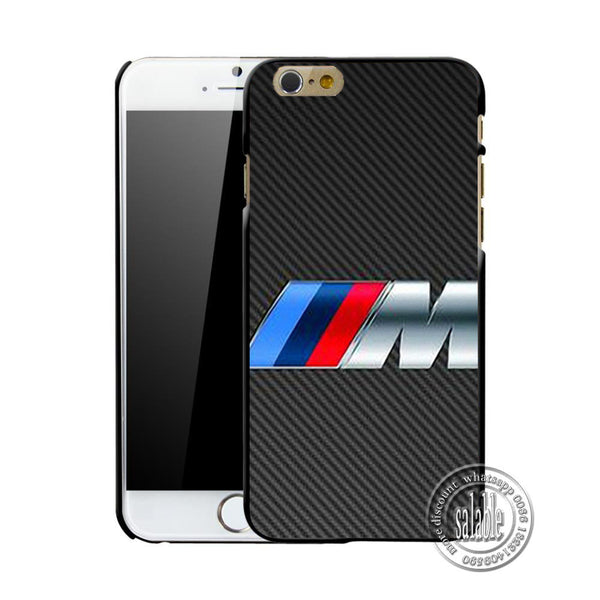 Slim BMW M Series M3 M5 Logo Cover Case Hard Protective Phone Shell for iPhone 7 7 Plus