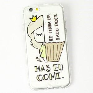Cartoon Unicorn Fashion Phone Case Cover For Apple 7 7 Plus Soft Silicone Cellular Back Cover