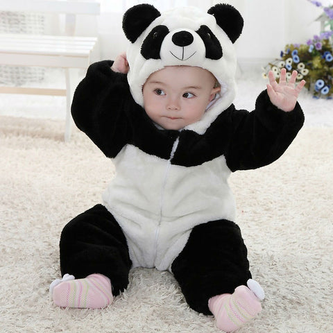 Baby Children Panda Halloween Cosplay Costume