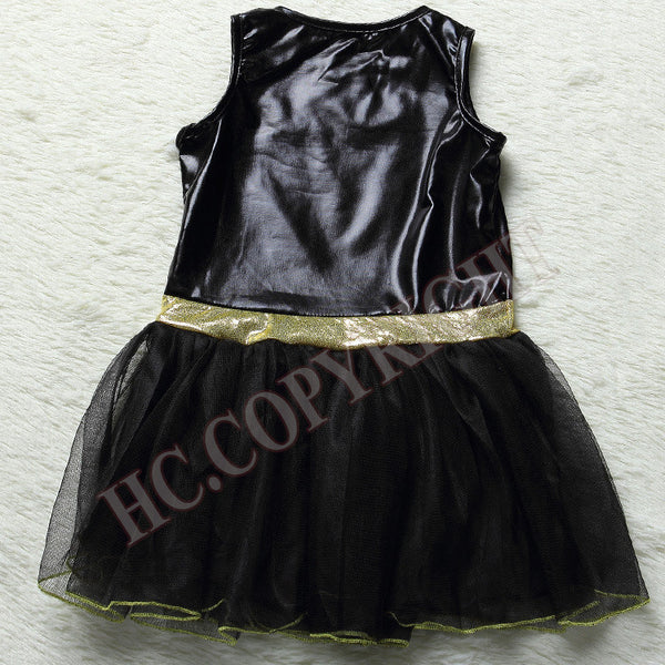 Girls Children Batman Superhero Halloween Cosplay Costume