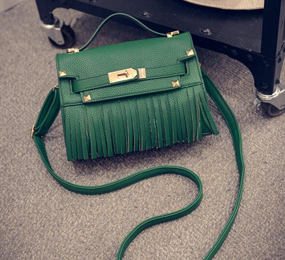 Tassel Crossbody Bag Famous Brand Designer Leather Handbags Fashion Luxury Messenger Bags