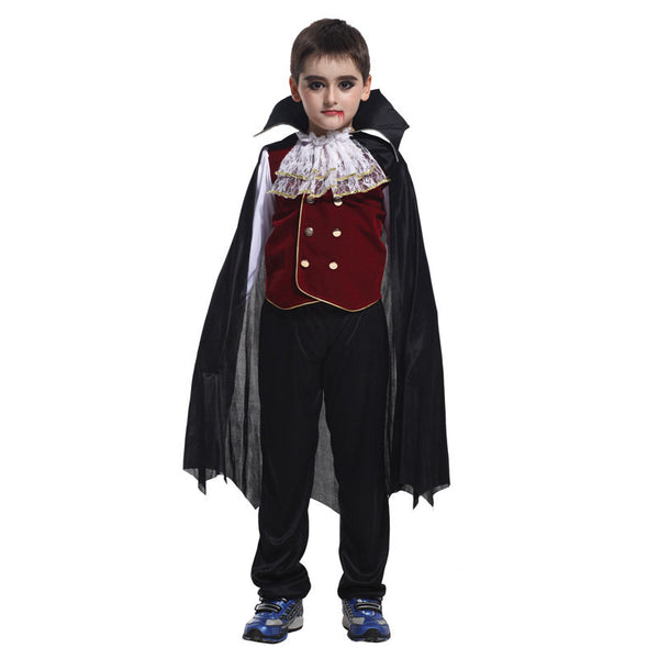 Halloween Vampire Princess Children Costume Evil Queen Of Snow White