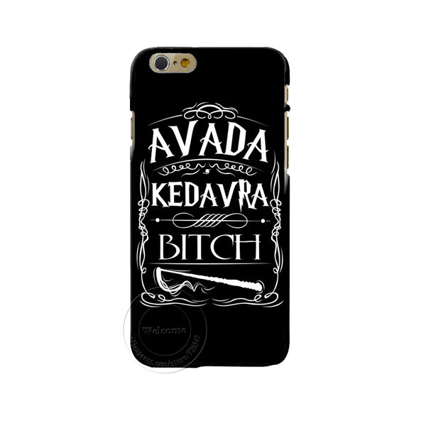 Avada Kedavra Bitch Shirt For Harry Potter Design Phone Cover Case For Apple Iphone 7 7 Plus
