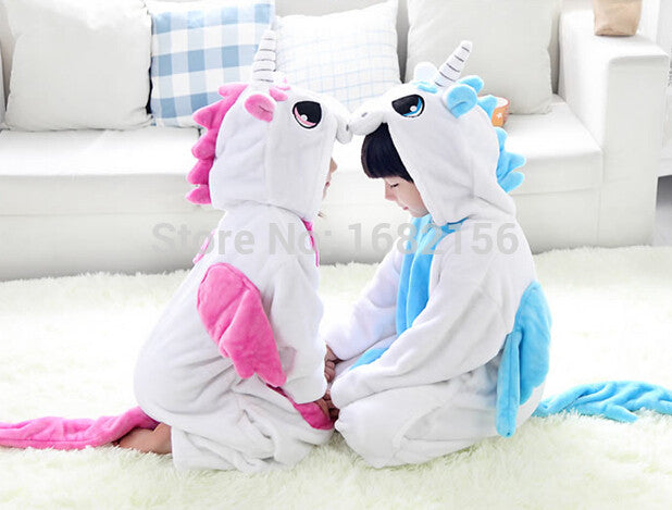 Children Unicorn Halloween Cosplay Costume