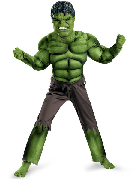Avengers Hulk Children Halloween Costume