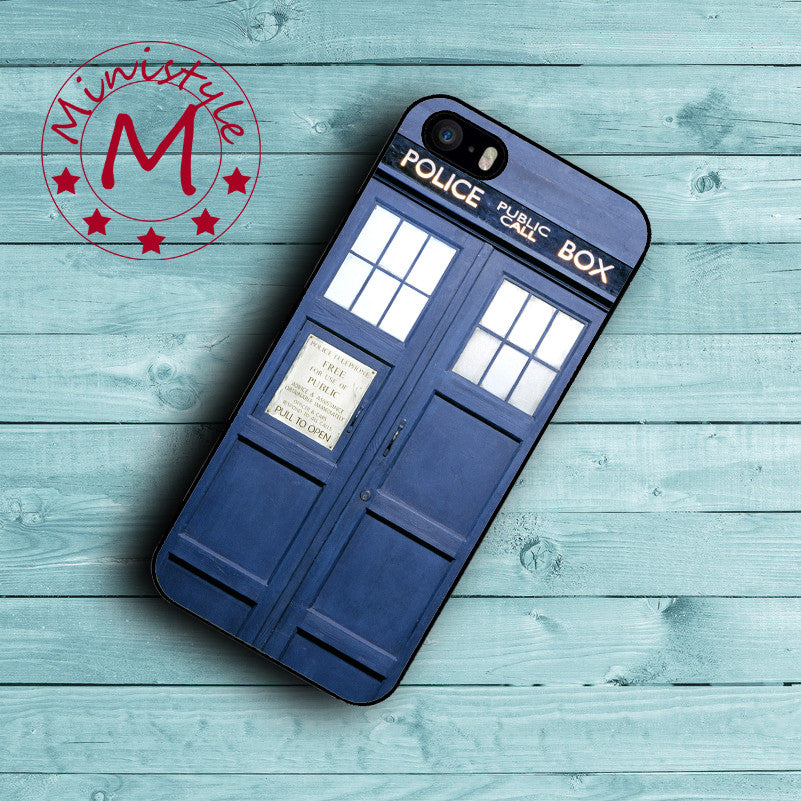 Doctor Who Case for iPhone 7 7 Plus Cover