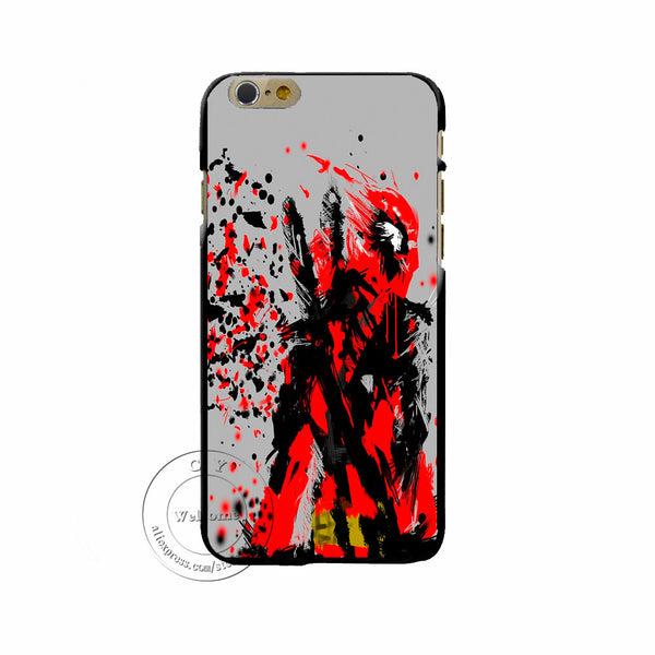 Back Case Cover Deadpool Captain America Iron Man Printing Hard Plastic Shell iPHone 7 7 Plus