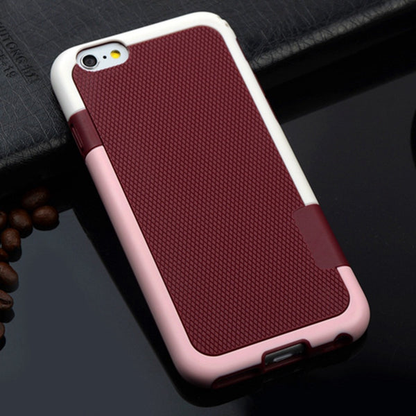 Matte Armor Soft TPU Hybrid Gel Back Case For Apple iPhone 7 7 Plus Shockproof Cover Protective