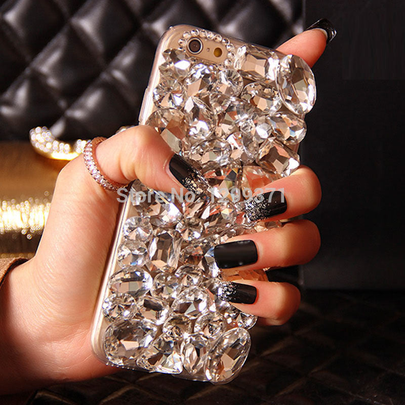Bling Crystal Diamond Phone Case Cover For iPhone 7 7 Plus