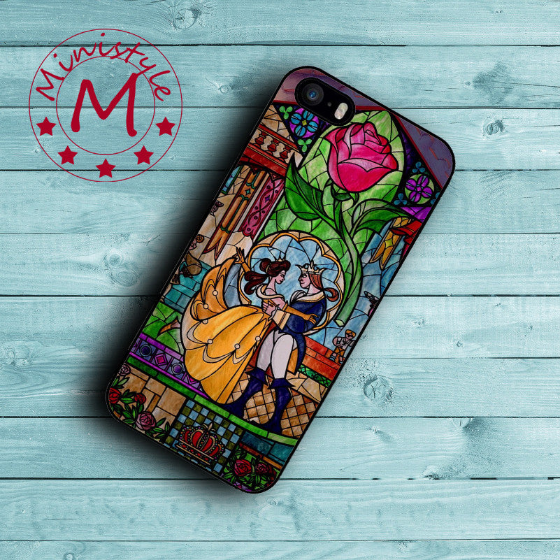 Coque Beauty And The Beast Case For iPhone 7 7 Plus Cover