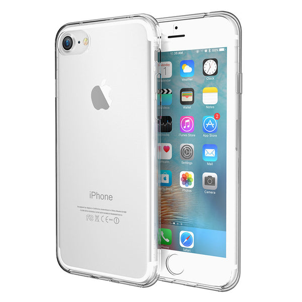 Flexible Slim Silicon Gel Soft Case for Apple iPhone 7 7 Plus Candy Frosted Phone Back Cover
