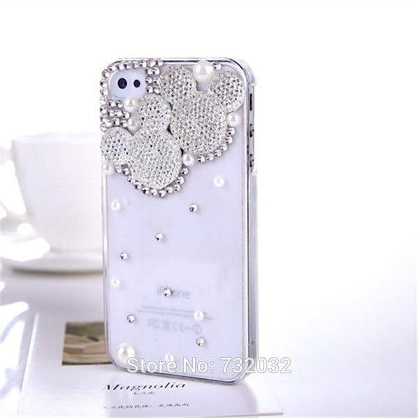 Bling Minnie Mickey Diamond Phone Cover for iPhone 7 7 Plus