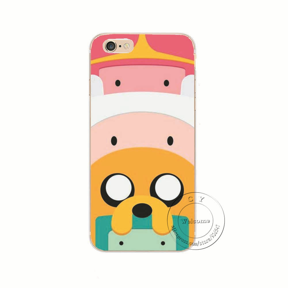 Adventure Time with Finn and Jake Case Cover for Apple iPhone 7 7 Plus
