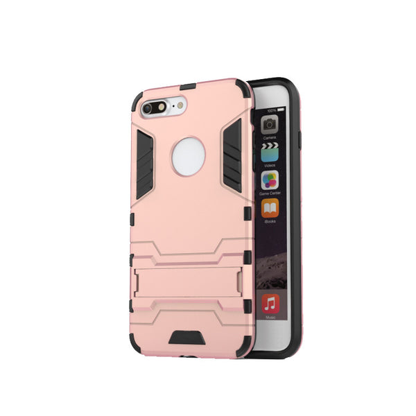 Iron Man Proof Armor Style PC Shell Dirt Resistant Trendy For IPhone 7 7 Plus Case
