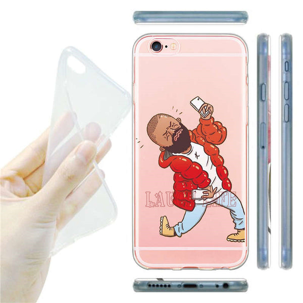 Drake Hotline Bling Case for iPhone 7 7 Plus Dress Beauty Girl Best Friend BFF Kim Kardashian Cover