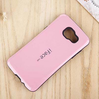IFace Silicone Rubber Case For iPhone 7 7 Plus Shockproof Hard Case Back Cover
