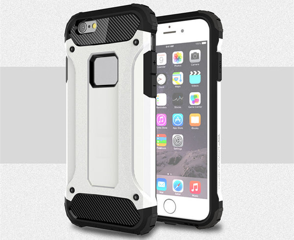 Strong Hybrid Tough Armor Shockproof Cover for Apple iPhone 7 7 Plus TPU Hard Back Armor Case Cover