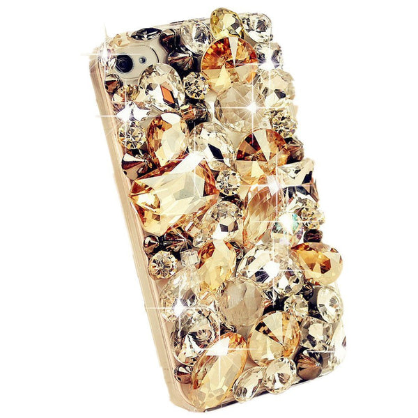 Bling Rhinestone Diamond Crystal Glitter Bling Case Cover Shell Phone Case for iPhone 7 7 Plus