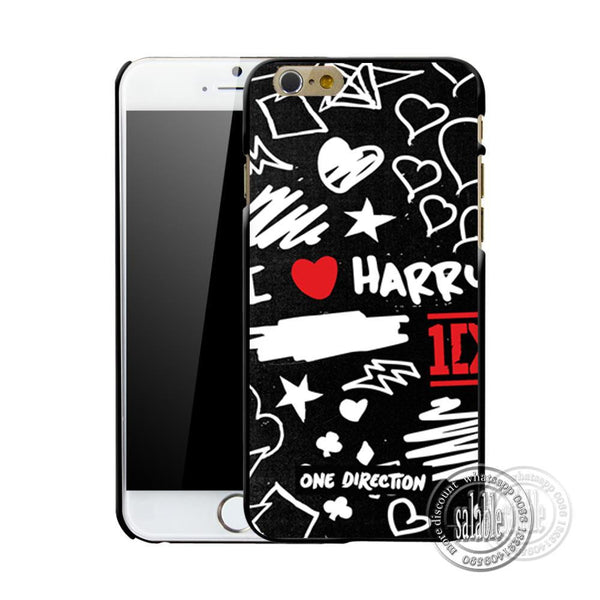 One Direction Tattoos ID Styles Case for Apple iPhone 7 7 Plus Mobile Cover